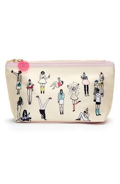 Free shipping and returns on BAN.DO 'Looking Good - Selfie' Makeup Bag at Nordstrom.com. Strike a pose and stylishly store your primping products at the same time with this fanciful makeup bag covered in a bevy of super-chic beauties.