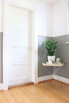 Treppenhaus streichen streifen  beige-Streifen-an-der-Wand | Home Improvement | Pinterest ...