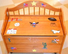 Silent Auction Class Project Ideas | Toy Chest Auction Project | Art class ideas