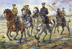 Russian cossacks, Russian Civil War