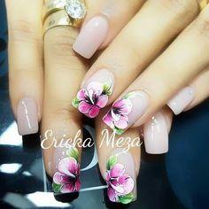 Beauty Nails, Ideas Para, Nail Designs, Nail Art, Color, Tattoos, Rose Dress, Yellow Nails, Nail Decorations