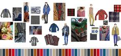 Glad to see, for the seasons to come, that the men have options for color and pattern too.