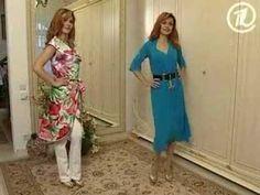 Olga Nikishicheva. Vestido vestido durante media hora - YouTube