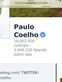 Paulo supera los 18 millones de fans en #Fb ¡Felicidades! RT @Paulo Coelho : Today crossing 18.000.000 THANK YOU!