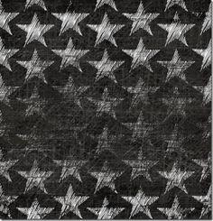 Stretch Sweat, Digitaldruck, Chalk Stars Schwarz -Selia, Finnland