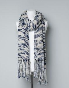 SLUB KNIT SCARF - Accessories - TRF - ZARA Israel
