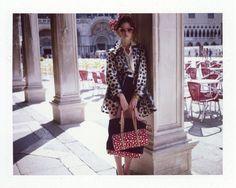 vuitton9 Dennison Bertram Lenses the Louis Vuitton x Yayoi Kusama Collection for Marie Claire Czech