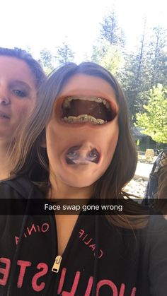 Face swaps gone wrong