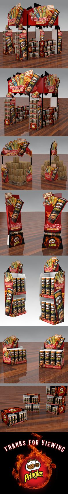 Pringles Hot & Spicy on Behance