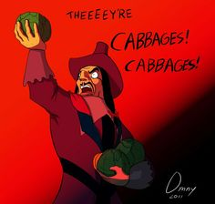 Cabbages! Cabbages!! #SavagesBecomeCabbages  #Pocahontas