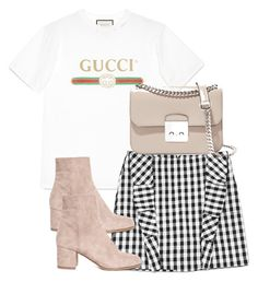 Untitled #3803 by theeuropeancloset on Polyvore featuring polyvore, fashion, style, Gucci, MICHAEL Michael Kors, Vichy and clothing