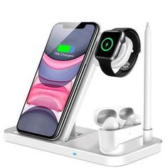 Wireless Charger – Techonlow.com Airpods Pro, Docking Station, Charging Cable, Apple Watch Series, Iphone 11, Charger, Samsung Galaxy, Phone Cases, Phones