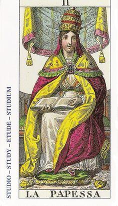 02-Cartas de Tarot - La Sacerdotisa-Tarot, Astrología, Horóscopos, Metirta