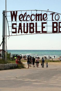 Welcome to the Bruce Peninsula. The Bruce Peninsula is home to Tobermory, Lion's Head, Wiarton Sauble Beach Flowerpot Island! Flowerpot Island, Manitoulin Island, Wasaga Beach, I Love Swimming, Lake Huron, Helicopter Tour, Beaches In The World, Beach Signs, Get Outdoors