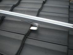 Dachhaken und Schiene Alustand Einlegesystem