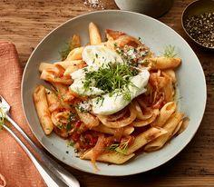 Mit Büffel-Mozzarella zubereitet, schmeckt dieses Gericht einfach köstlich und ist in kurzer Zeit bereit zum Geniessen.