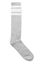 <p>The Sport Socksare knee length sockswith a ribbedtexture and striped details. </p>