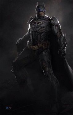 BATMAN in armor