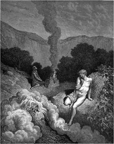 Cain and Abel offer their sacrifices to God. ―Genesis 4 Gustave Doré: The Bible Illustrations http://www.danshort.com/bible/page1.php?p=4