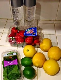 Detox Water / Spa Water Recipe