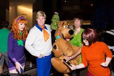 Daphne Blake, Fred Jones, Shaggy Rogers, Velma Dinkley, and Scooby-Doo