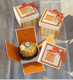 Kleine Geschenke für liebe Menschen oder ein Dankeschön braucht man doch immer mal. Hier habe ich Mini-Explosionsboxen gewerkelt. Es hat g...