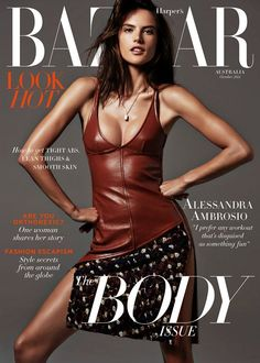 Alessandra Ambrosio by Simon Upton for Harper's Bazaar Australia October 2014