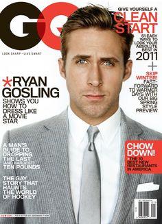 Ryan Gossling magazine-covers-gq-magazine