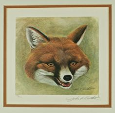 Vintage John Ruthven Signed and Numbered Limited Edition Print