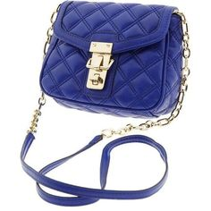 Banana Republic Quilted Faux Leather Cross Body ($60) ❤ liked on Polyvore