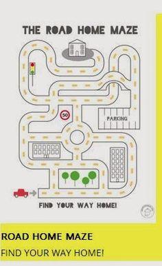 Maze Worksheets for Kids. 20 Maze Worksheets for Kids. Free Printable Mazes and Other Printable Activities for Mr Printables, Mazes For Kids Printable, Preschool Printables, Puzzles For Kids, Worksheets For Kids, Free Printable, Maze Games For Kids, Learning Activities, Preschool Activities