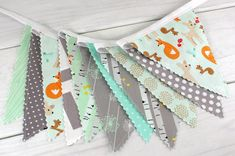 Banner BuntingNursery DecorPhotography by thespottedbarn on Etsy
