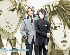 Saeki and Komori - TokiMemo GS 2nd Kiss