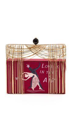 Theatre Carillon Love Is In The Air Clutch by Benedetta Bruzziches for Preorder on Moda Operandi