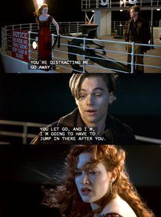 Titanic Quotes you& still my girl Titanic Le Film, Titanic Rose, Titanic Movie Facts, Titanic Art, Titanic Quotes, Real Titanic, Iconic Movies, Good Movies, Cult Movies