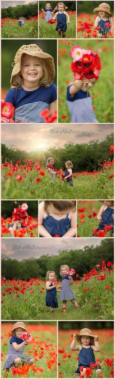 Shhh rain rain go away . . . red poppy field - Allen Texas photographer - Eliz Alex Photography - Allen, Texas baby, child, family photographer