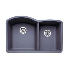 Blanco DIAMOND Undermount Double Basin Kitchen Sink