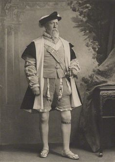 1897. The Devonshire House Jubilee Costume Ball.  Prince Christian of Schleswig-Holstein dressed as Duke Adolphus of Schleswig-Holstein-Gottorp in 1540.