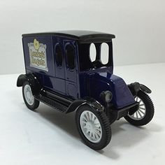 A great Fathers Day gift. Lenders Begals Die Cast Car Bank American Classic 1920 International The ERTL Co. SOLD