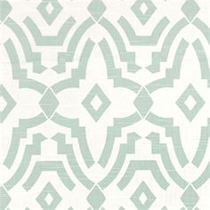 Chevelle Snowy Slub Blue Contemporary Print Drapery Fabric by Premier Prints