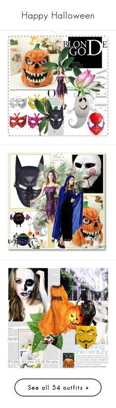 """Happy Halloween"" by udobuy ❤ liked on Polyvore featuring Bulgari, Fashion Fair, Vosges, New Growth Designs, Yves Saint Laurent, Seche, Essie, Disney, Gucci and Nearly Natural"