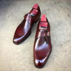 """gazianogirling: """"The """"Carnegie"""" with a coronation red patina. Made to Order on the MH 71 last. #gazianogirling #gazianoandgirling #shoeporn #madetoorder #patina #GGCarnegie """""""