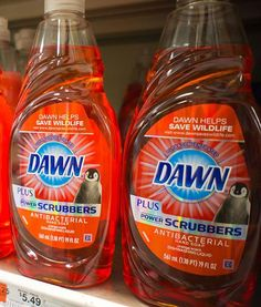Dawn dish detergent is good for more than just cleaning grime off dishes and saving wildlife from spilled oil. The blue stuff can also be used to kill fleas that are plaguing your dog. Add a small amount of Dawn to your dog's bath. The soap     penetrates the pests' exoskeletons and kills those suckers good and dead. It can work as well or better than some of the over-the-counter chemical stuff.