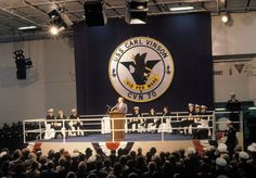 On this date in 1982 (3/13), the U.S. Navy commissioned USS Carl Vinson (CVN 70) at Newport News Shipbuilding.