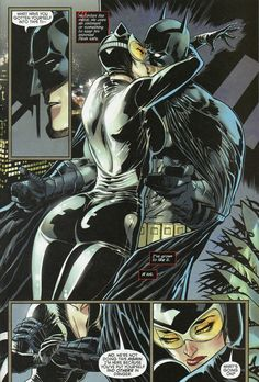 Catwoman and Batman New 52.