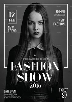 fashion poster Ideas For Fashion Show Poster Design Art Poster Art, Poster Design, Poster Layout, Graphic Design Posters, Graphic Design Inspiration, Flyer Design, Layout Design, Design Art, Flyer Layout
