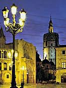 Catedral de Valencia y Torre del Miguelete.