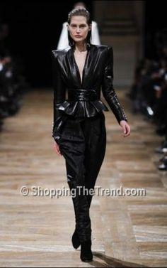 63b7f7a6d94d Balmain Fall 2013 - photos from Paris Fashion Week All Black Fashion