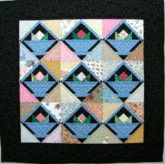Free pattern day:  Basket Quilts