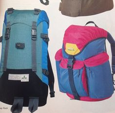 #TBT - Vaude rucksacks circa summer 1992! #Retro colours!